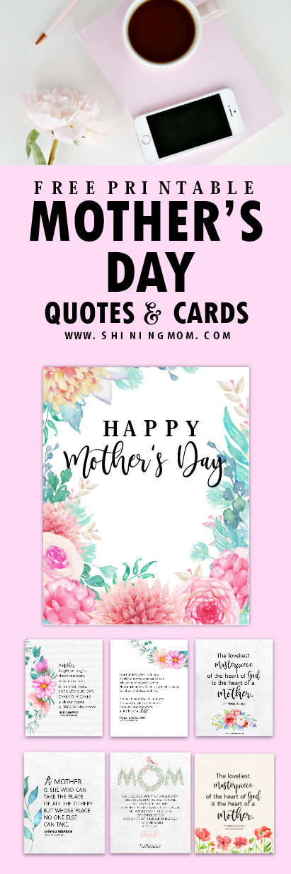 image regarding Printable Mothers Day Quotes known as 12 No cost Moms Working day Quotations and Playing cards in the direction of Pleasure a Mothers Centre!