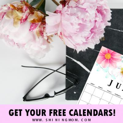 FREE June Calendars: Six Pretty Designs for You!