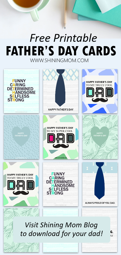 fathers day cards printables free