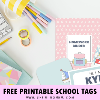 FREE Printable School Labels: 50 Super Cute Designs!