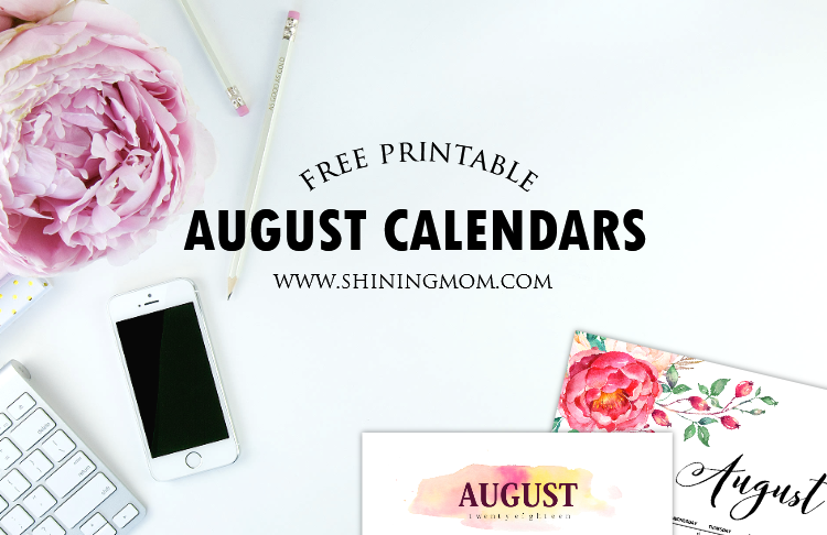 Free August Calendars: Get Yours!