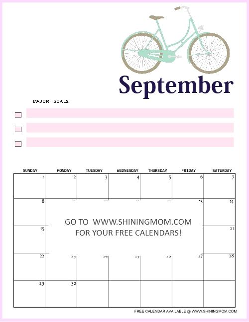 September 2019 Calendar