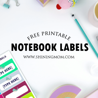 FREE Label Templates for Back to School: Really Cute Designs!