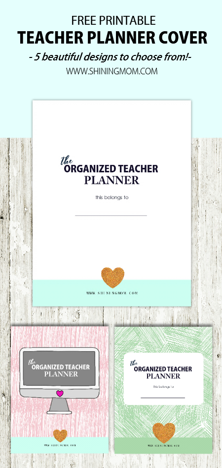 image regarding Free Printable Teacher Planner titled Totally free Printable Trainer Planner: 45+ College Planning Templates!