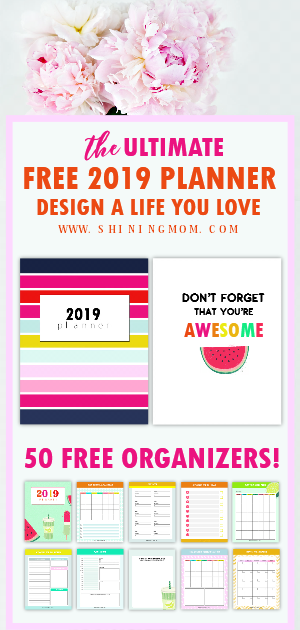 2019 planner printables