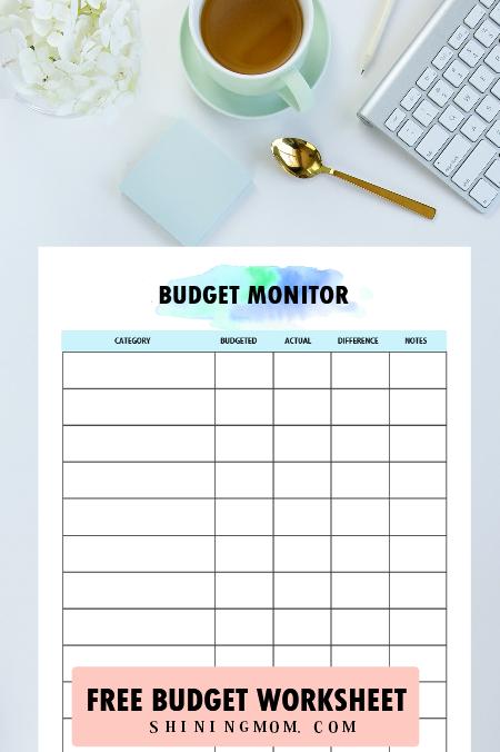 budget monitor