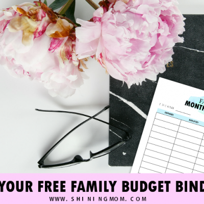 FREE Family Budget Binder & Why You Should Keep One!