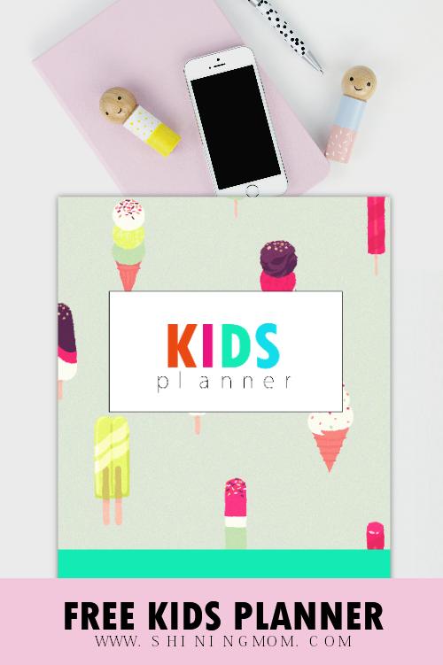 kids planner 2019