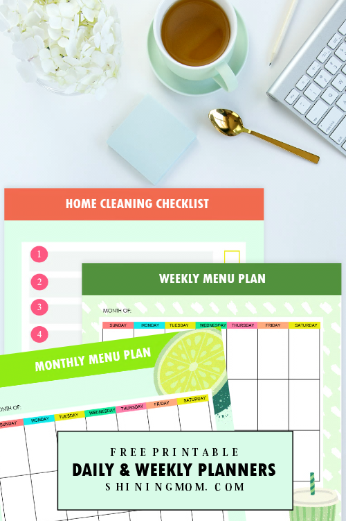 household planner 2019