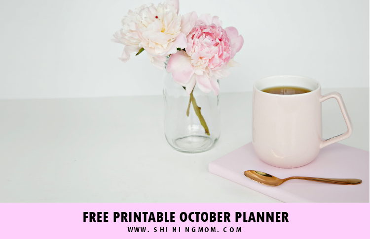 Free Printable October Planner and Bullet Journal!