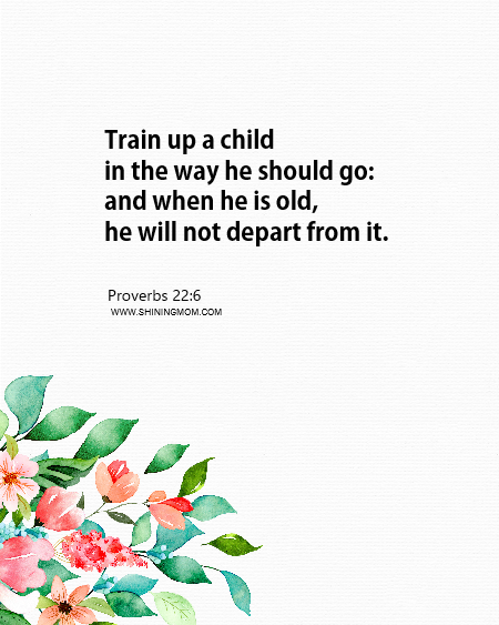 free printable bible verses about mothers
