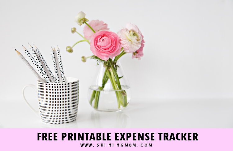 free expense tracker printable templates log your spending