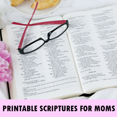 Bible Verses About Mothers: Free Printable Wall Art!