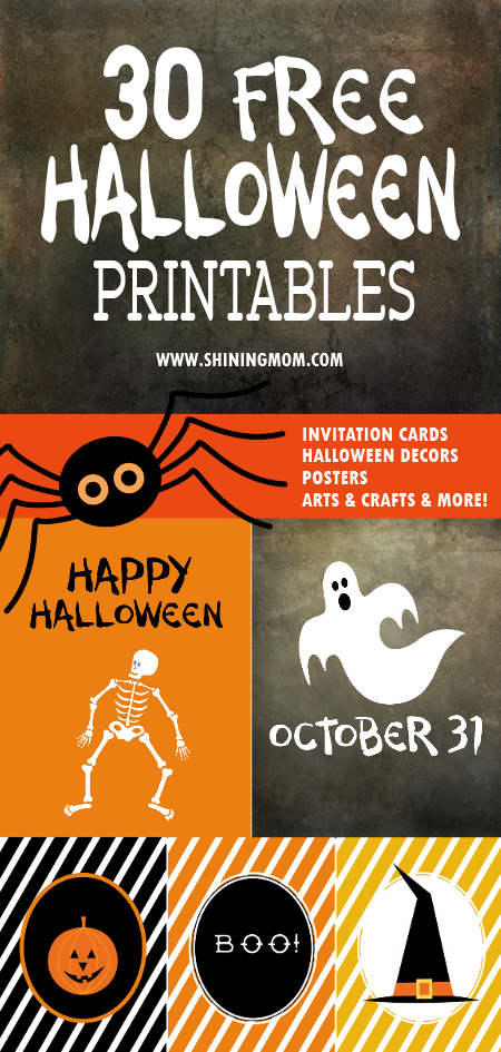 Halloween printables FREE!