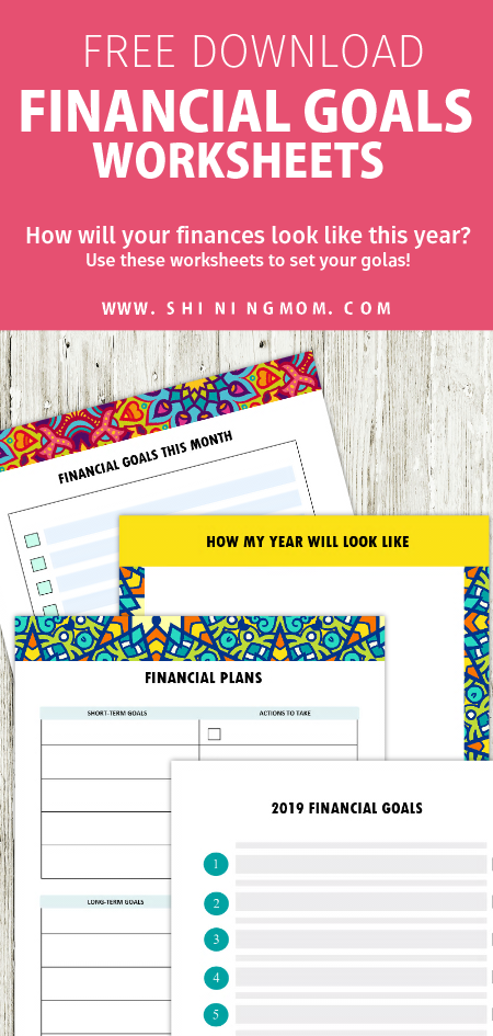 It is a graphic of Printable Financial Planner pertaining to pretty