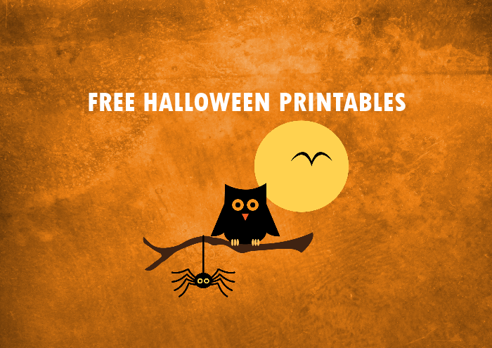 30 Free Halloween Printables for a Spooktacular Party!