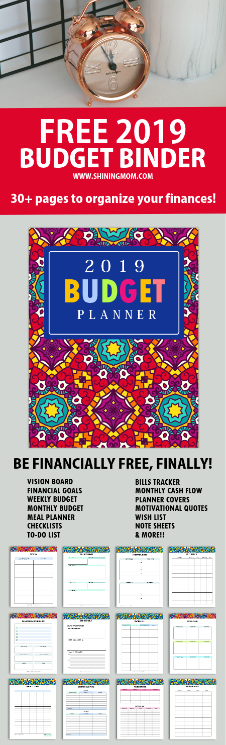 image about Free Budget Planner Printables referred to as Cost-free Printable Price range Planner 2019: 30+ Finances Templates!