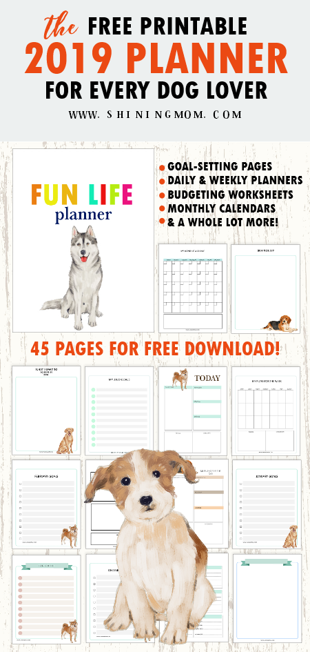 2019 planner free printable