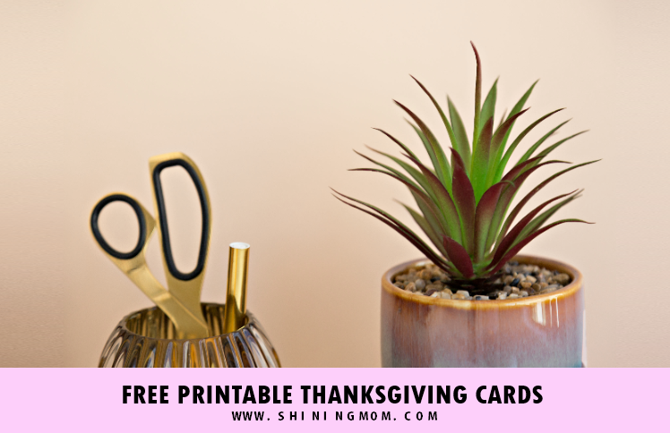 photo regarding Printable Thanksgiving Cards identified as 10 No cost Printable Thanksgiving Playing cards: Hot and Interesting