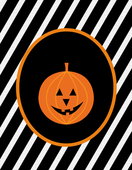 Halloween pumpkin printables