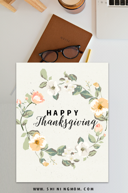 FREE Thanksgiving Day cards