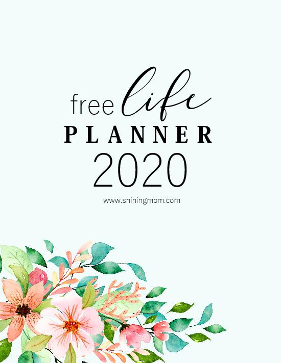 Planner 2020 printable free