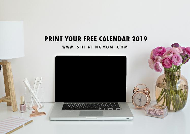 print free calendar 2019