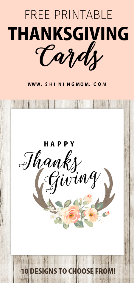 graphic about Printable Thanksgiving Cards called 10 Cost-free Printable Thanksgiving Playing cards: Hot and Interesting