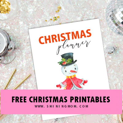 20 FREE Christmas Checklist and Christmas Planner Printables!
