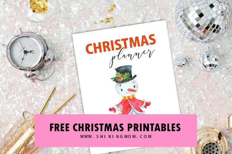 20 FREE Christmas Checklist and Christmas Planner Printables!
