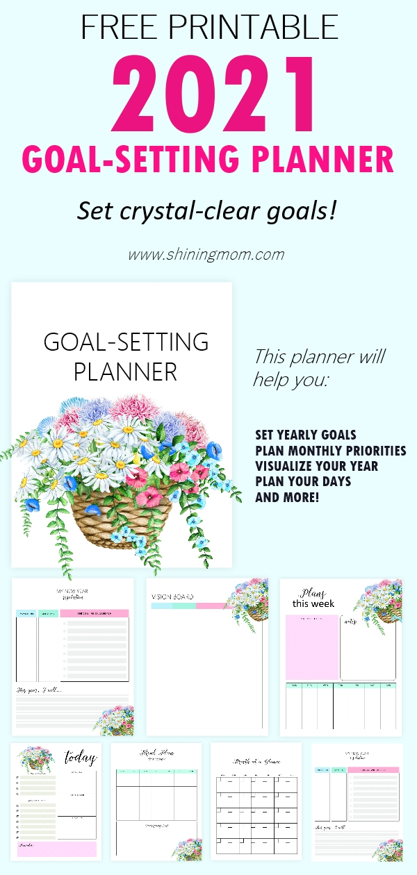 Goals Planner 2021