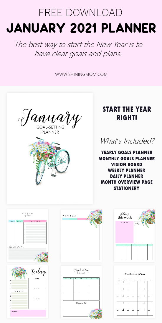 January Planner 2021