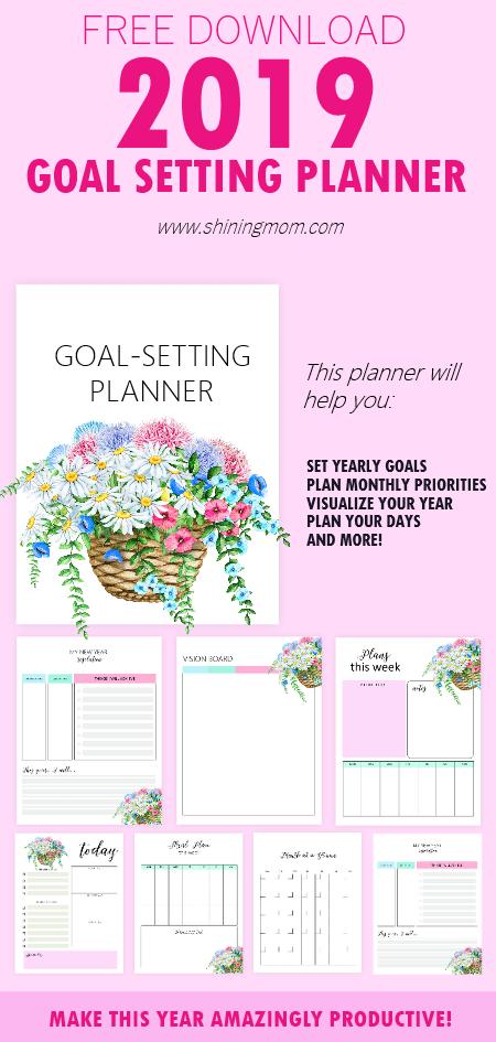 Goal-Setting Planner 2019