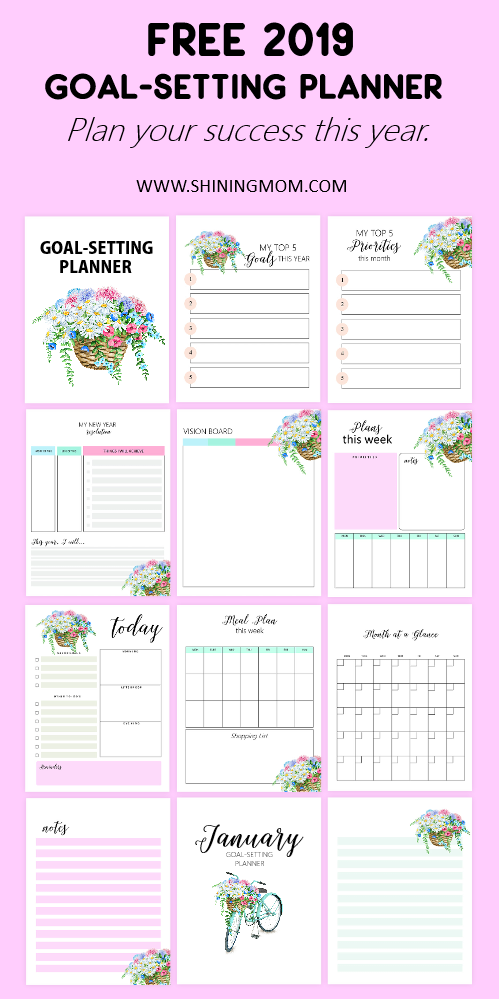 January 2019 Goals Planner: A Brilliant Goal-Setting Planner!