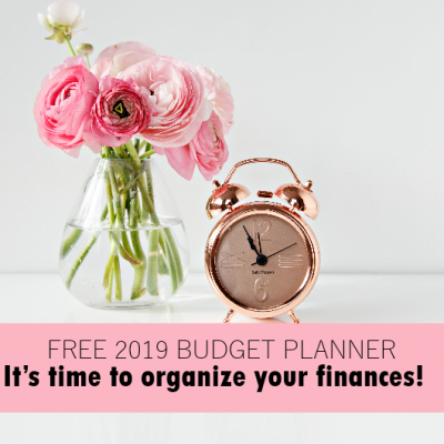 The Free Budget Planner to Use in 2019!