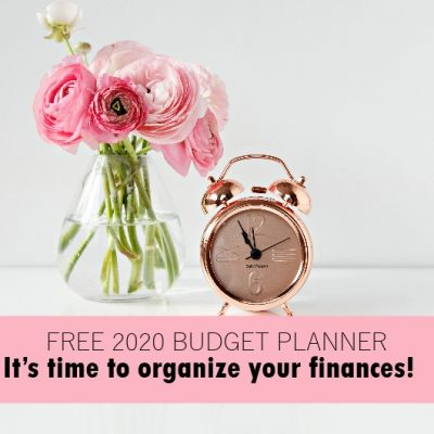 Free Budget Planner to Use in 2020!