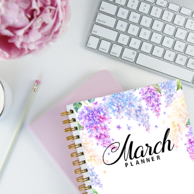 March Bullet Journal and Planner: 15 FREE Beautiful Pages!