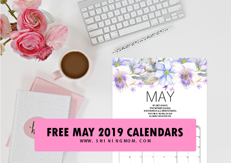 May 2019 calendar printable