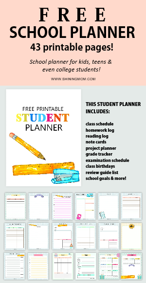 photograph relating to Free Organization Printables for College Students named 500+ Simplest College Cost-free Printables for Academics and College students!