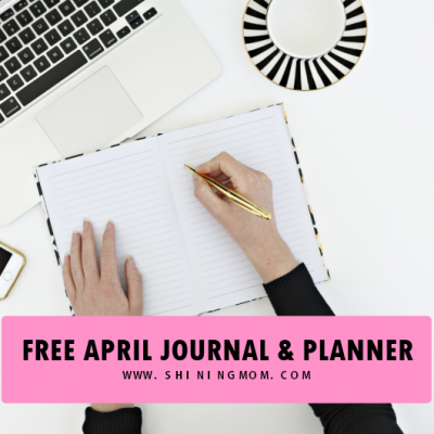 April Bullet Journal and Planner: Over 14 Free Pretty Pages!