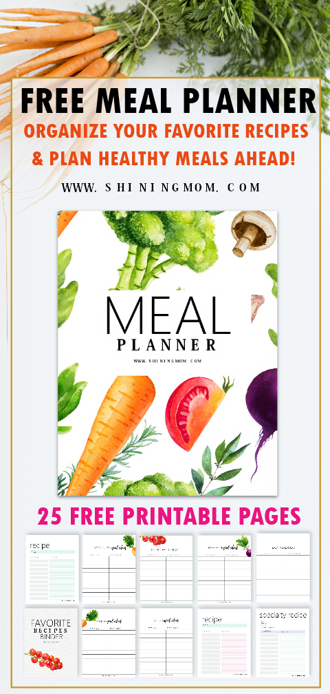 meal planner printable free