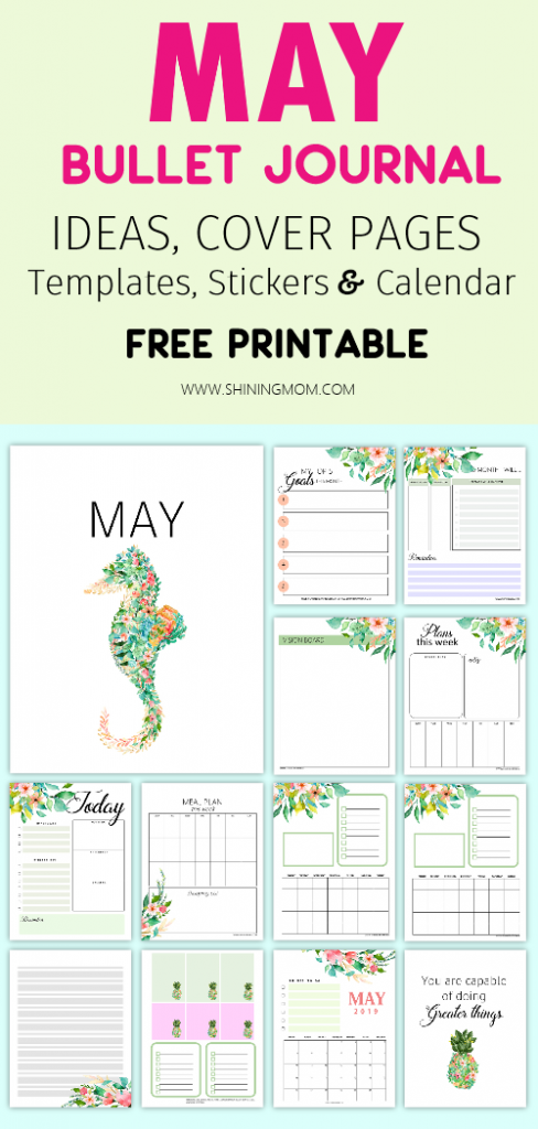 May Bullet Journal Templates and Ideas