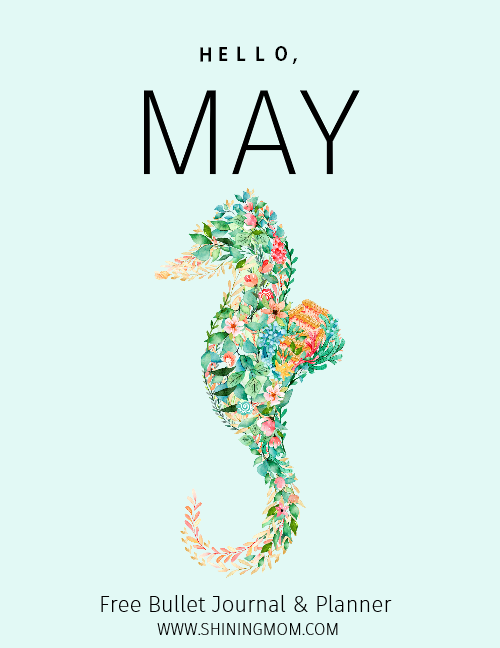 May Planner printable