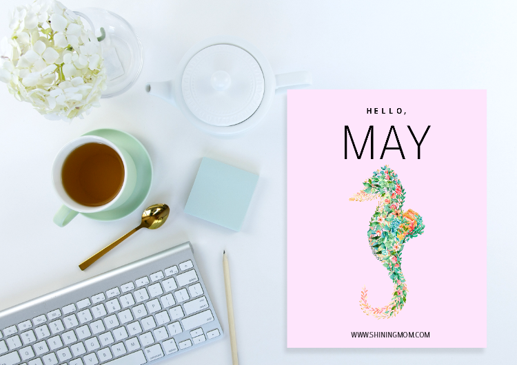 free printable May bullet journal