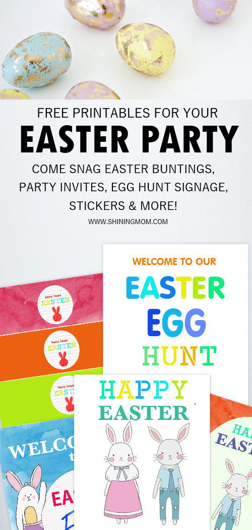 Easter party ideas and printables