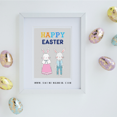 20 FREE Easter Printables: Cards, Labels, Posters, Party Decors and More!