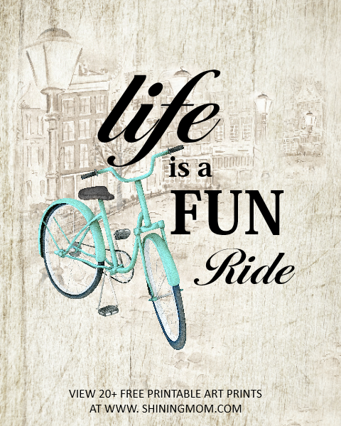 Life is a fun ride.