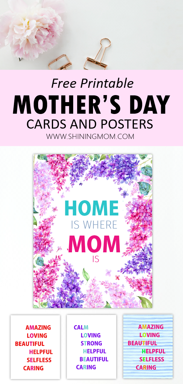 free printable Mother's Day cards