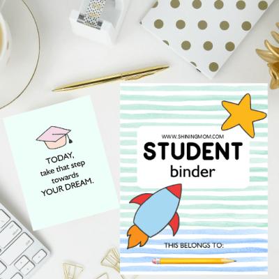 FREE Student Binder Printables: 50+ Brilliant Planning Sheets!