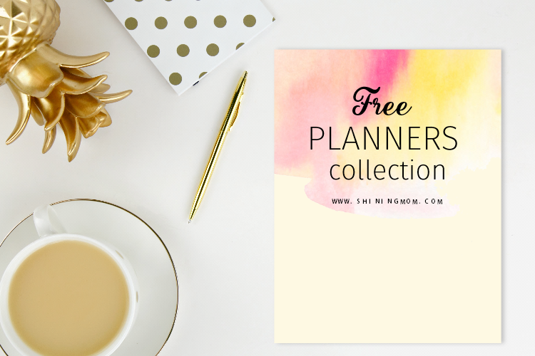 300+ Free Planner Printables to Organize Your Whole Life!